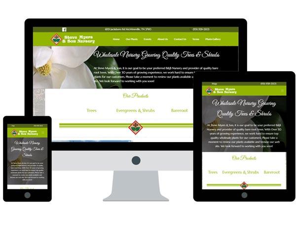 Nursery Web Design Company