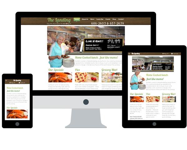 The Landing Website