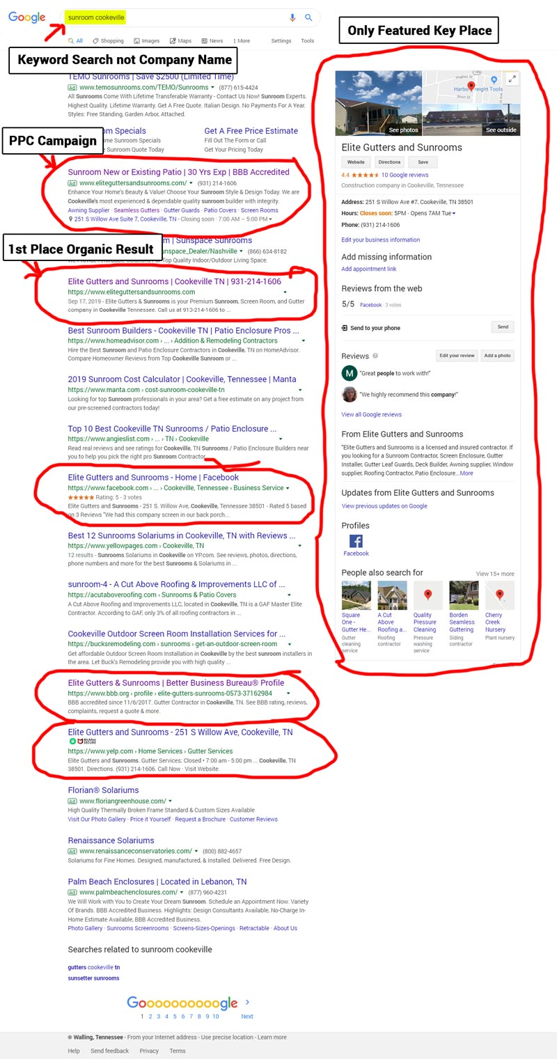 egs internet marketing service lg