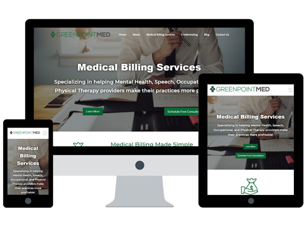 GreenpointMed Website