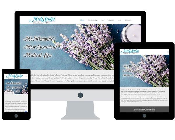 MediSculpt Medical Spa Website