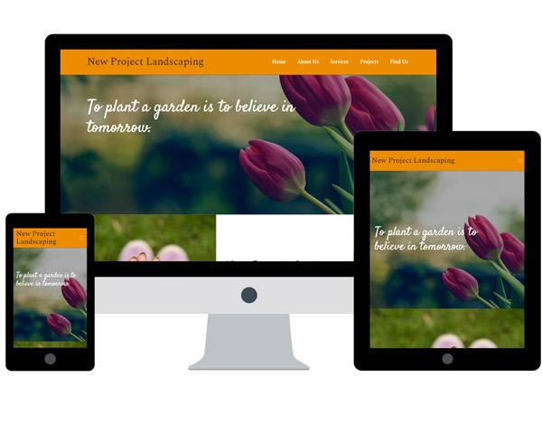 New Project Landscaping Website