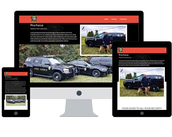 ProForce Protection Website