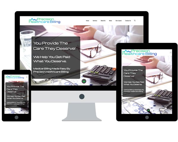 Precision Healthcare Billing Website