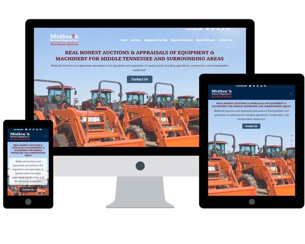 MidSouth Auctions & Appraisals Website