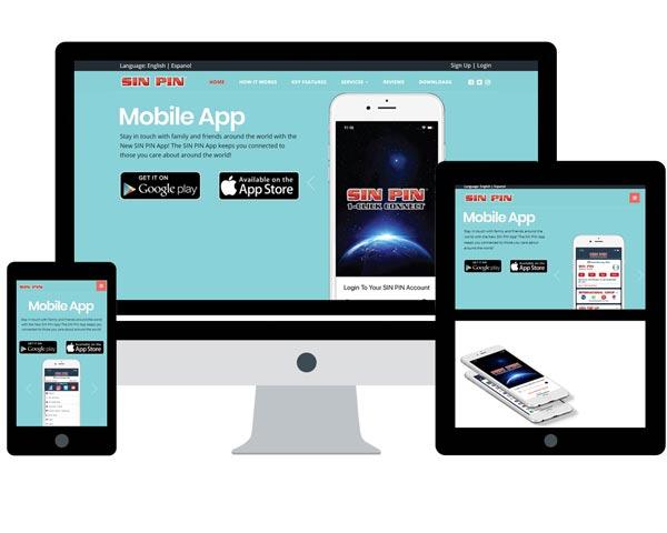Sin Pin App Website